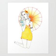 Pin-Up  Art Print