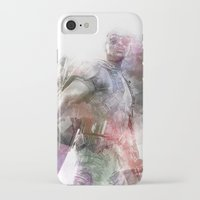 millenium falcon iPhone & iPod Cases featuring Falcon by NKlein Design
