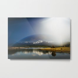 Mount Shuksan over Lake Baker Metal Print