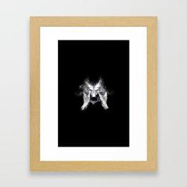 The Cry Wolf Framed Art Print