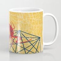 spider Mugs featuring SPIDER by Armin Barducci