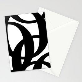 Hidden Letters. Baskerville O Stationery Cards