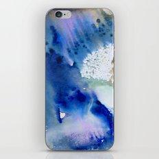 watercolor monoprint - the beginning iPhone & iPod Skin