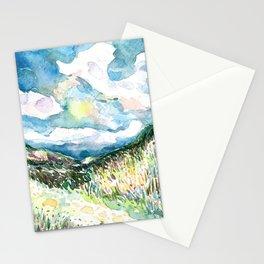 Night Hills 1 Stationery Cards