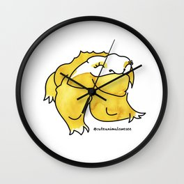 #3animalwesee Wall Clock