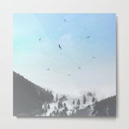 Fly Fly Away III Metal Print