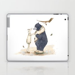 Winter gift for Bear Laptop & iPad Skin