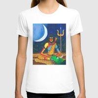 shiva T-shirts featuring Lord Shiva by Purple Soul