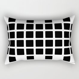 Black Point Rectangular Pillow