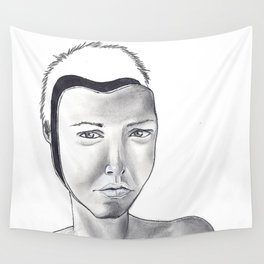 """Masks"" Wall Tapestry"