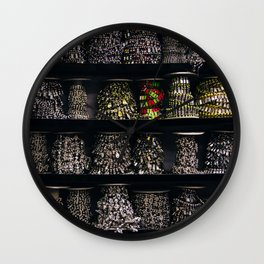 All The Jewels Wall Clock