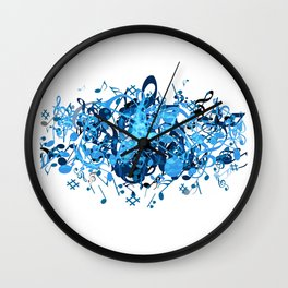 Music Time Wall Clock
