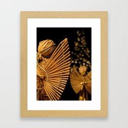Christmas Angels Framed Art Print