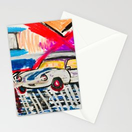 British Triumph Spitfire circa.1965 (Abstract#2) Stationery Cards