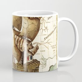 Vintage map of Europe Coffee Mug