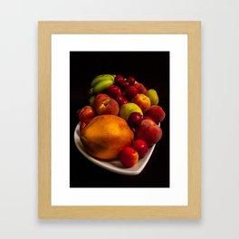 Colorfull Fruit Framed Art Print