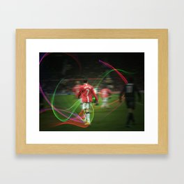Ronaldo Remix Framed Art Print