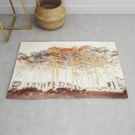 Abstract Monterey Cypress In Infrared with Tint Overlay Rug