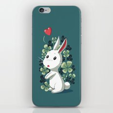 Clover Bunny iPhone & iPod Skin
