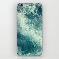 photograph iPhone & iPod Skins featuring Water I by Dr. Lukas Brezak