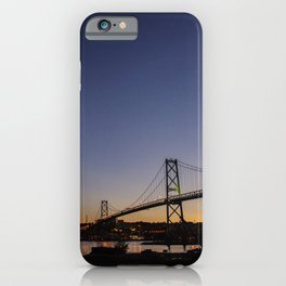 Halifax Bridge II iPhone Case