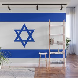 Flag of the State of Israel - High Quality Image Wall Mural