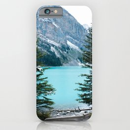 354. Louise Lake View, Banff, Canada iPhone Case