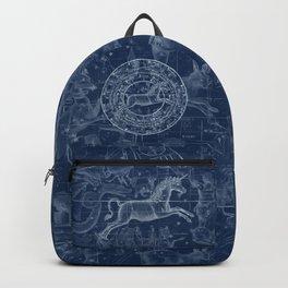 Unicorn stars sky map Backpack