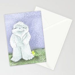 Abominable Snowman & The Magic Bean Stationery Cards