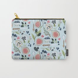 Blueberry Breakfast Carry-All Pouch