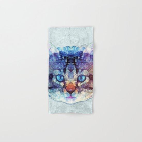 abstract kitten Hand & Bath Towel
