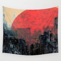 kevin russ Wall Tapestries featuring Last Sunshine by Fernando Vieira
