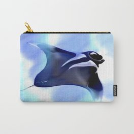 Manta Rays Carry-All Pouch