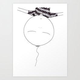 balloon child Art Print