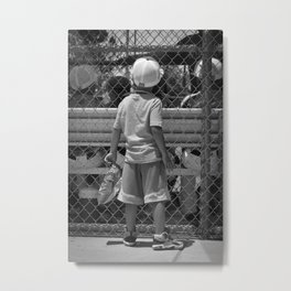 Little Brother 2 Metal Print