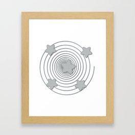 Star Style Framed Art Print