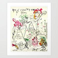 Econographics Art Print
