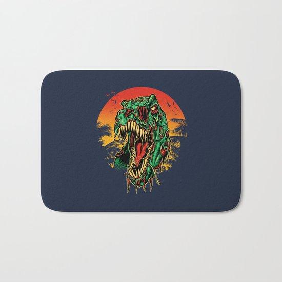 Zombie T-Rex Bath Mat