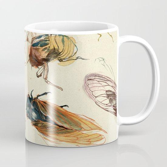 summer cicadas Mug