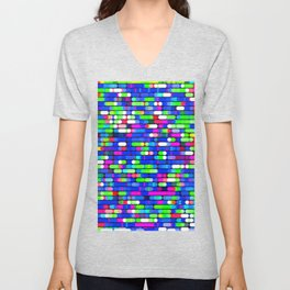 Re-Created Cypher 10.0 by Robert S. Lee Unisex V-Neck