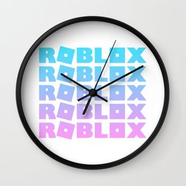 Roblox BubbleGum Adopt Me Stack Wall Clock