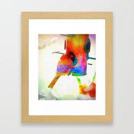 Colors V Framed Art Print