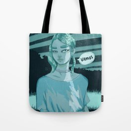Alien Girlfriend Tote Bag