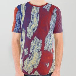 Fractal Abstract 77 All Over Graphic Tee