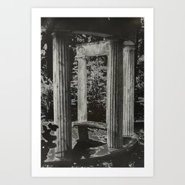 Solar Columns Art Print