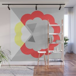 Abstract Pop Wall Mural