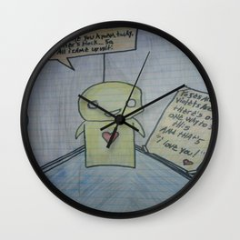 I wrote you a poem Wall Clock