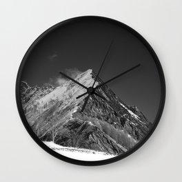 Walking High Wall Clock
