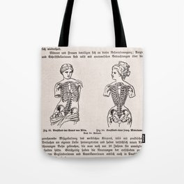 Effects of Corseting Tote Bag