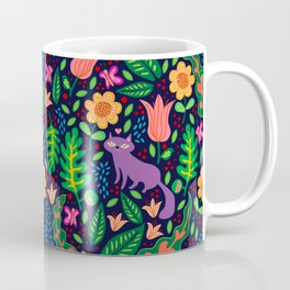 Night Cat Coffee Mug